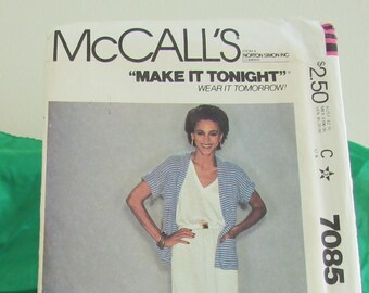 Vintage McCall's Dress Jacket Pattern