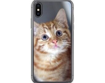 iPhone Cases, iPhone X Case, iPhone 6/6S, iPhone 7/7+ Cases ,Case iPhone 8/8+ Case, Cute Cat print