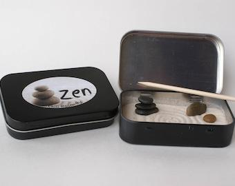 Mini Zen Garden Gift Etsy