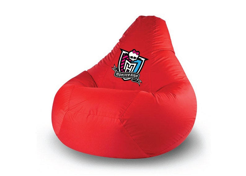 Big Bag Zitzak.Monster High Bean Bag Chair Comic Decor Child Seat Bag Etsy