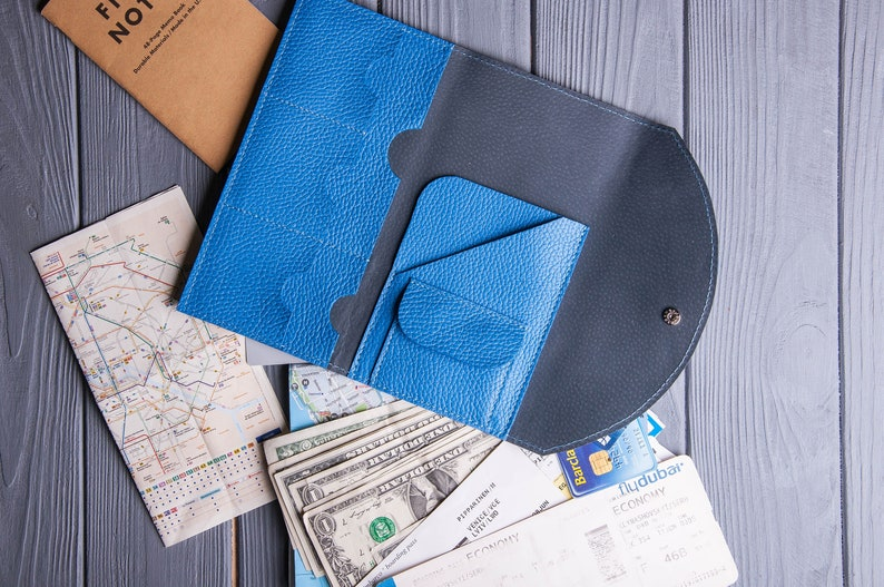 Travel wallet-Passport holder-Personalized cover-Holder travel passport-Leather passport cover-Travel passport personalized wallet