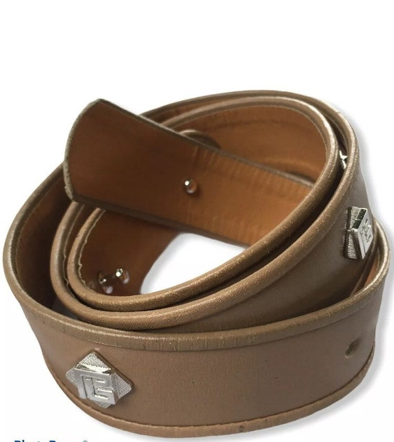 Vintage Pierre Balmain Leather Studded Belt