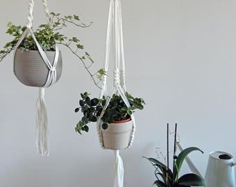 SET OF TWO - Fabric Plant Hanger