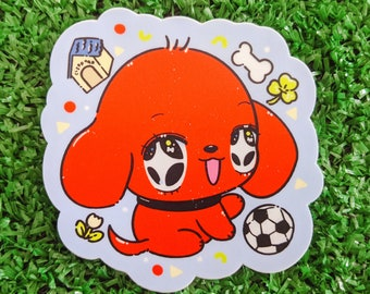 clifford the big red dog waterproof sticker