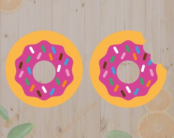 Donuts Svg,Fast Food Svg, Donut Cut files, Donuts DXF files, Donut for cricut, Fast Food clipart,
