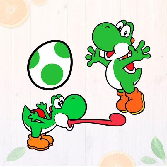 Yoshi svg Super Mario Svg Mario Yoshi SVG Yoshi egg svg | Etsy