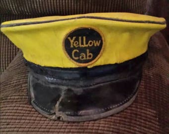 1940s Yellow Cab cap