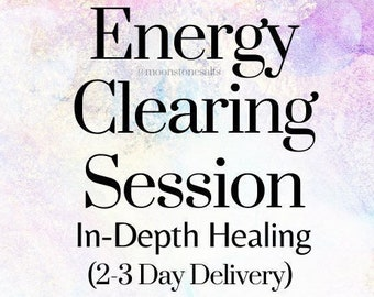 Energy Clearing Session   Find and Remove Life Blocks   In Depth Reading   Spiritual Healing   Distance Energy Healing