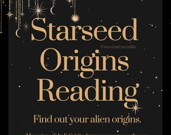 Starseed Origins Reading   Discover Your Alien Race   Quick Answer   Starseed Volunteers   Same Day