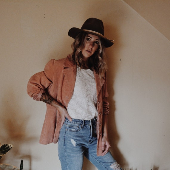 Leather Jacket, Pink Leather Jacket, Wilsons Leat… - image 2