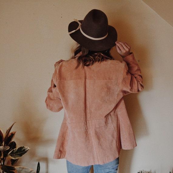 Leather Jacket, Pink Leather Jacket, Wilsons Leat… - image 3