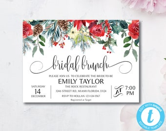 bridesmaid luncheon invitations etsy
