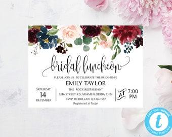 bridesmaid luncheon invitations etsy
