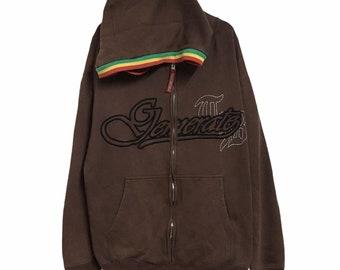Run DmC music hip hop ribbon luxe sweatshirt hoodie rock roll dog pet cat hooded sweats alternative music billboard brown Medium deluxe rap