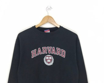 Vintage champion harvard 90 s sweatshirt jumper crewneck big spell out big  logo very rare item size M!!! 8b6d5fe1ab