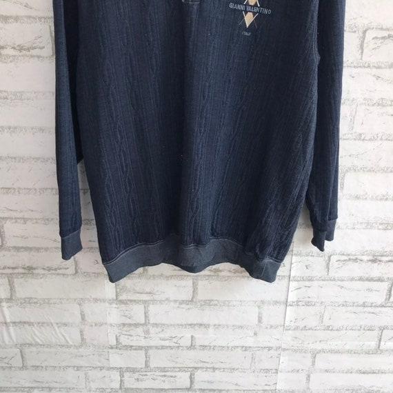 Pick!! Vintage gianni valentino sweatshirt logo e… - image 4