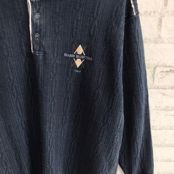 Pick!! Vintage gianni valentino sweatshirt logo e… - image 2