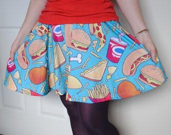 Junk Food Skater Skirt