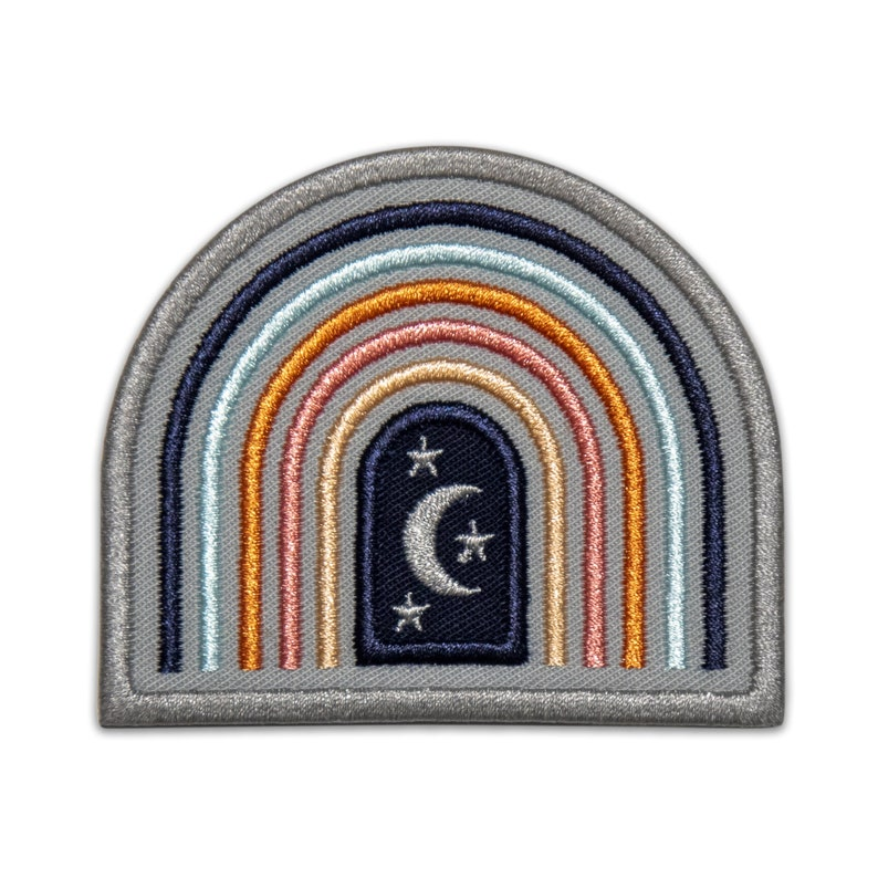Rainbow Embroidered Patch Retro Patch Patches for Jacket Hippie Backpack Vintage 70/'s 80/'s Peace Love Music Festival Boho Psychedelic