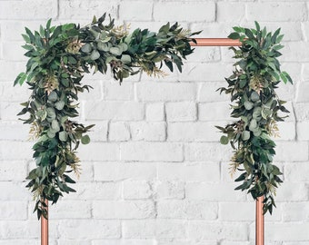 Wedding Arch Decor Eucalyptus Garland Wedding Garland Greenery Garland Wedding Arbor Wedding Arch Garland Backdrop