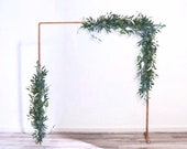 Greenery Wedding Arch Garland Backdrop - Eucalyptus Garland Greenery Backdrop Wedding Garland