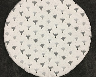 Waterproof Baby Play Mat - Foxes