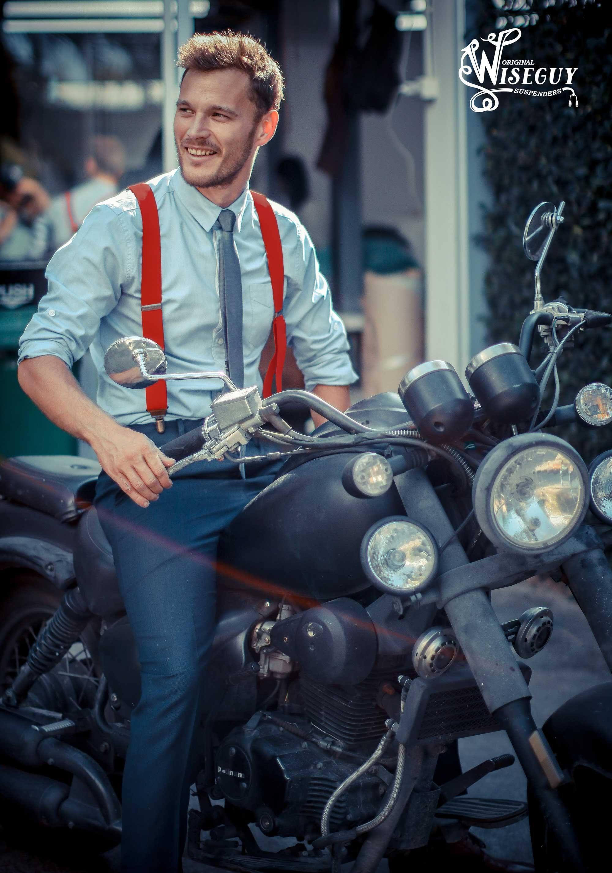 c6e7ee68234 Red wedding Suspenders 1.3 inch for Men and Women. Groomsmen
