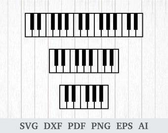 Piano keys | Etsy