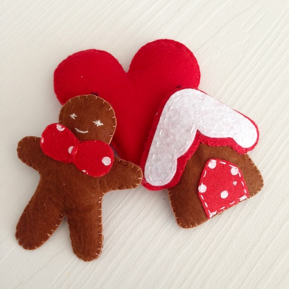 image 0 - Gingerbread Christmas Ornaments