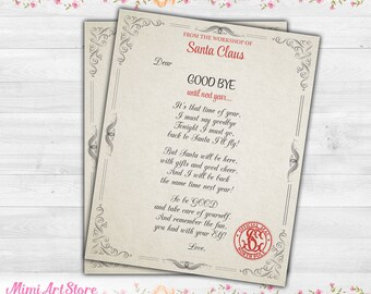 elf goodbye letter magic elf goodbye letter printable elf on the shelf goodbye letter christmas elf farewell letter goodbye from elf note