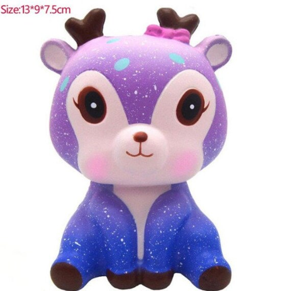 Kawaii Galaxy renne jouets visqueux Squeeze Stress Relief Anti Stress jouets