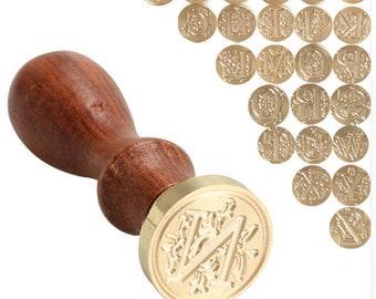 Classic Alphabet Wax seal Stamp