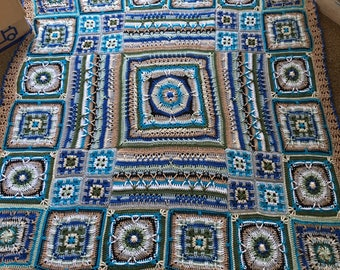 Sturdy cotton blanket from 180x180 cm