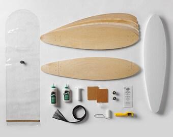 DIY Build Your Own Longboard Kit