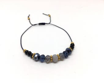 Bracelet ' Asterope gold ' vegan