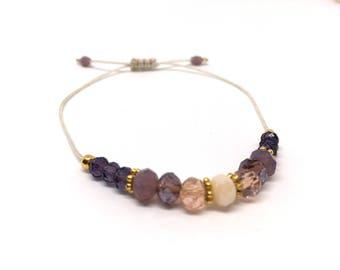 Bracelet ' Maia Gold ' vegan