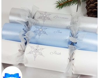Party crackers etsy personalised christmas crackers kit fill your own make your own crackers christmas table party wedding place setting name diy set solutioingenieria Gallery
