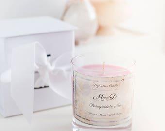 Pomegranate Noir - Handmade Luxury Soy Candle
