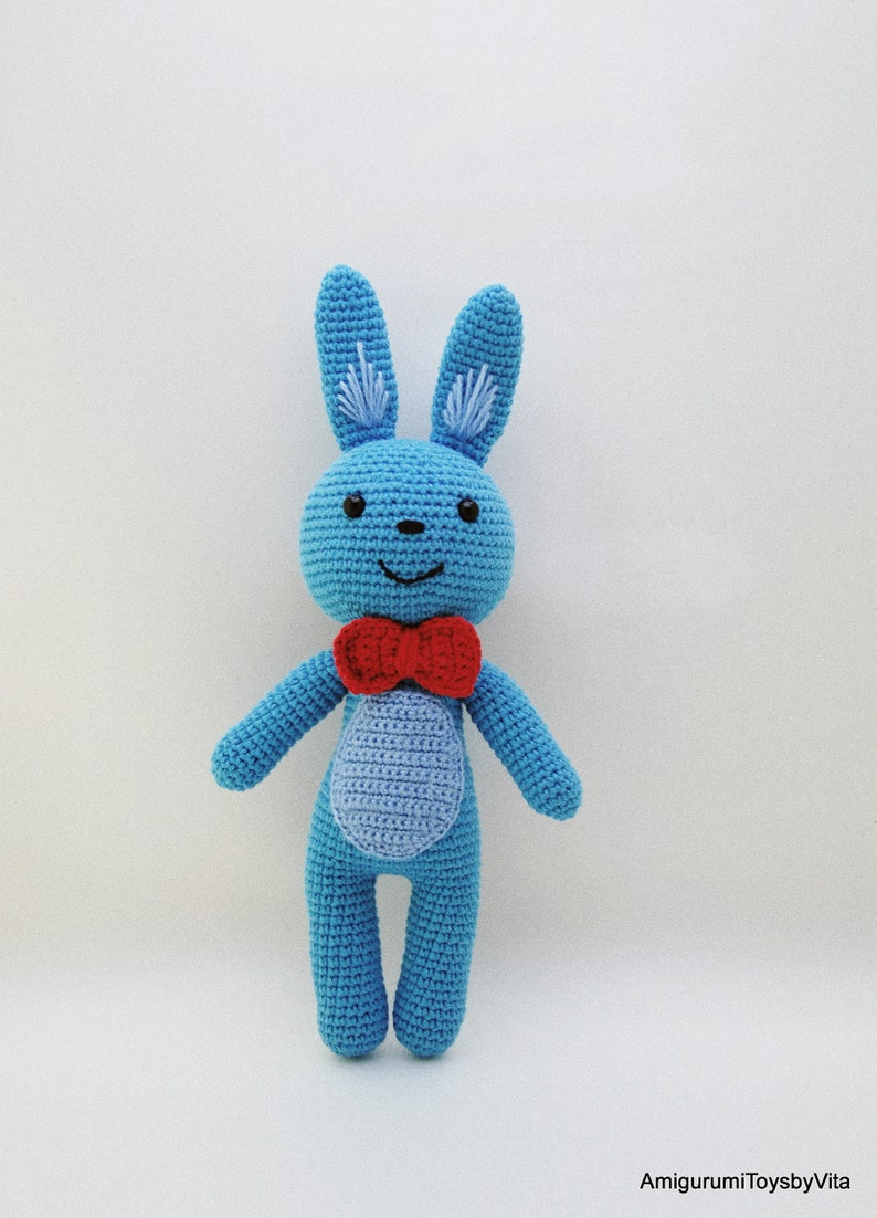 11 Crochet Bunny Patterns -Easter Fun - A More Crafty Life | 1102x794