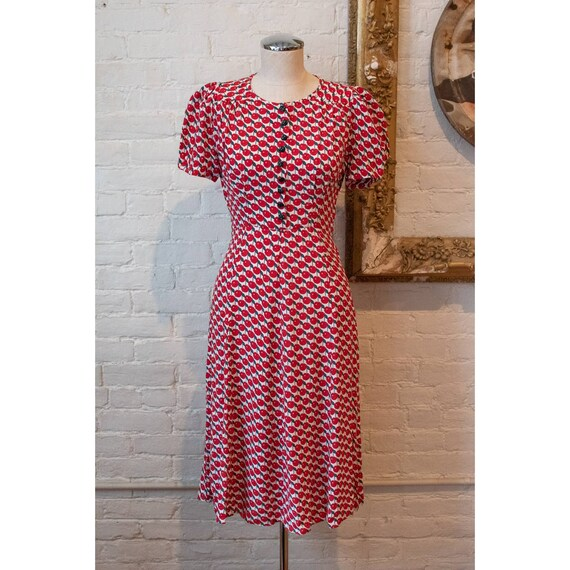 1990's   Vintage Anna Sui   Cherry Dress - image 3