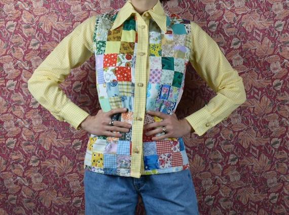 1970's Patchwork Shirt