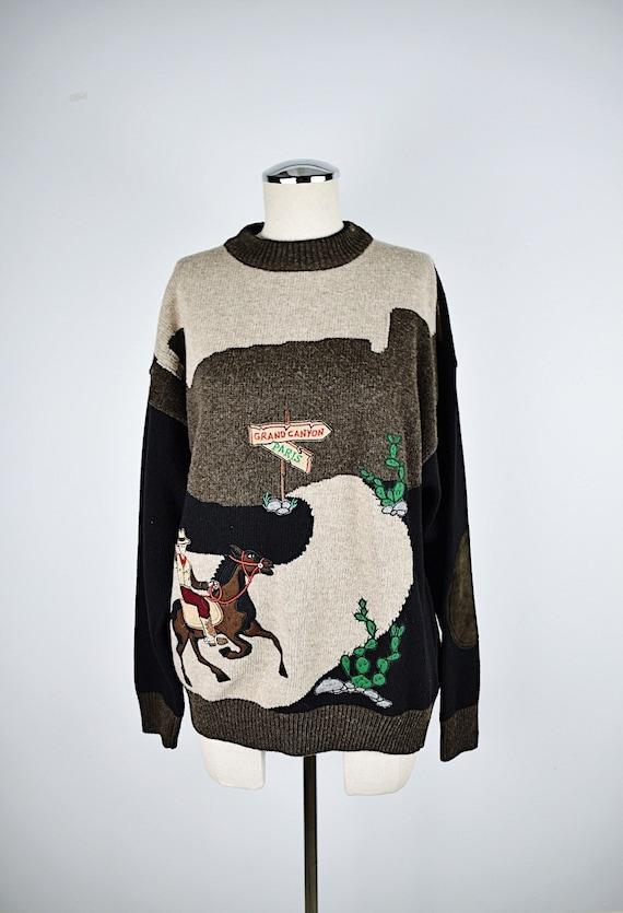 Vintage 1990's JC Castelbajac Novelty Sweater