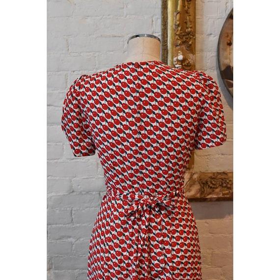1990's   Vintage Anna Sui   Cherry Dress - image 9