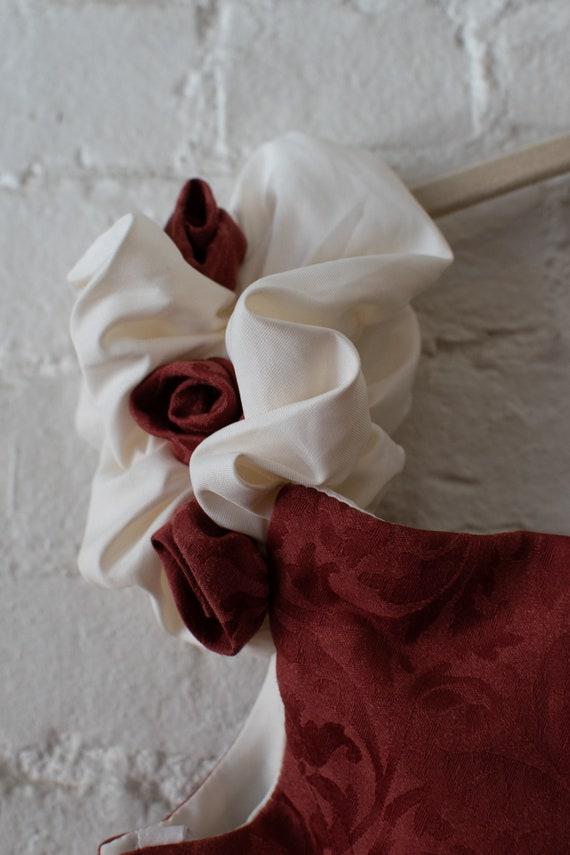 1990's Vintage Matrimonia Paris Dusty Rose Corset… - image 4