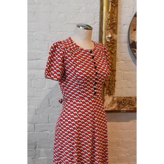 1990's   Vintage Anna Sui   Cherry Dress - image 7