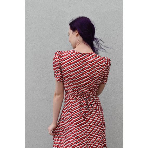 1990's   Vintage Anna Sui   Cherry Dress - image 2
