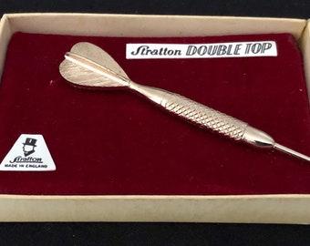 Rippled Sterling Silver Tie pin Brooch Lapel pin SMR25