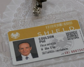Agents of SHIELD S.H.I.E.L.D ID Card Holder Lanyard Sangle de cou ID Document