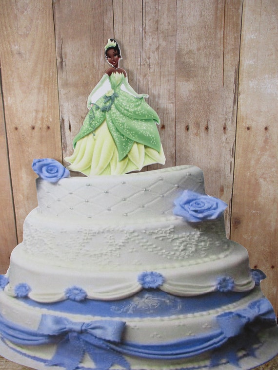 Magnificent Princess Tiana Tiana Cake Topper Princess Cake Topper The Etsy Funny Birthday Cards Online Aeocydamsfinfo