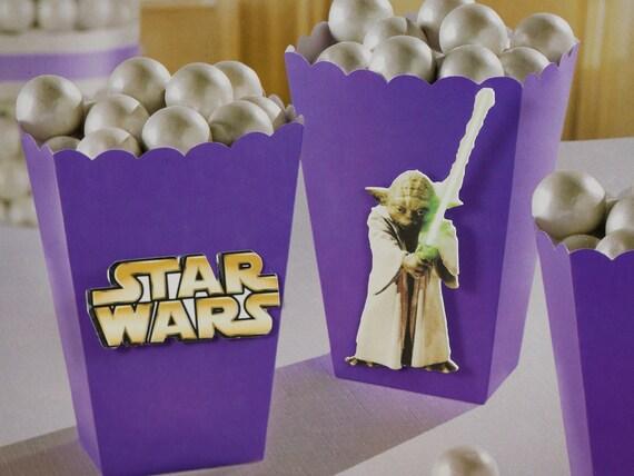 Caja Niños Niños Regalo Fiesta Suministros Niños Star Wars Candy Sweet Treats 6 un